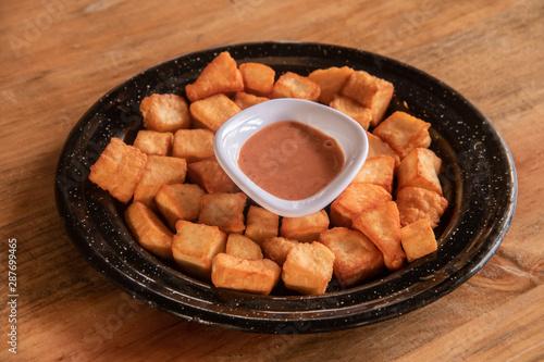 Photo Botana de queso con aderezo