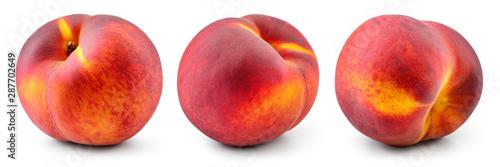 Obraz na płótnie Peach isolate