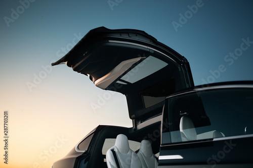 Fotomural  Modern suv car vertical door