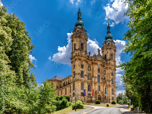 Leinwand Poster The Basilica of the Fourteen Holy Helpers Germany