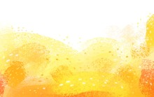 Yellow Sunny Pastel Background...