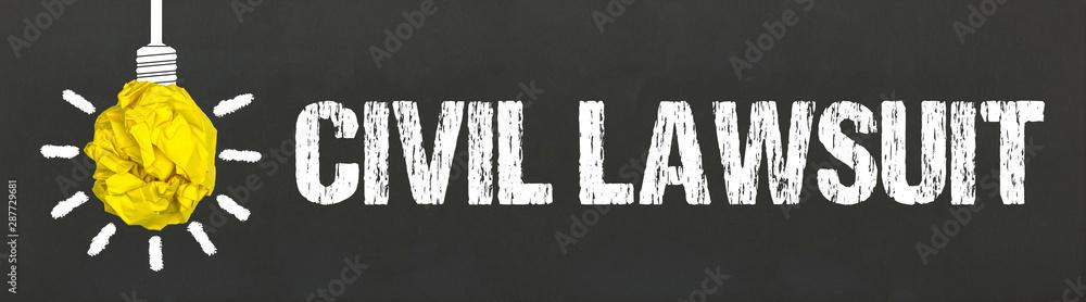 Fototapety, obrazy: Civil Lawsuit