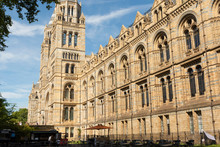 London, U.K. August 22, 2019 - The Natural History Museum Building With Blue Summer Sky.