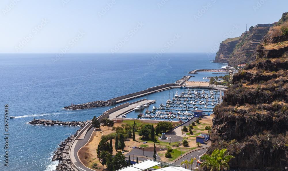 Fototapety, obrazy: Calheta coastal landscape, Madeira