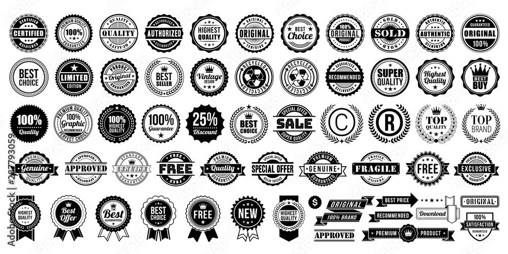Fotografía Vintage Retro Vector Logo for banner