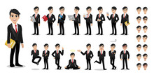 Businessman Cartoon Character ...