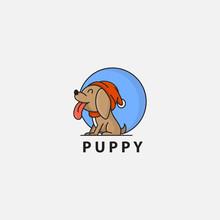 Icon Logo Of Puppy
