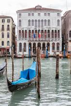 Gondola Port, Venice, Italy