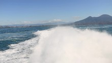 Wake Of A Hydrofoil In The Gul...