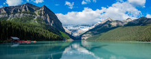 The Beautiful  Lake Louise And...