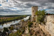 A Medieval Watch Tower, Chinon, France.