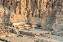Aerial View Of Hatshepsut Temp...