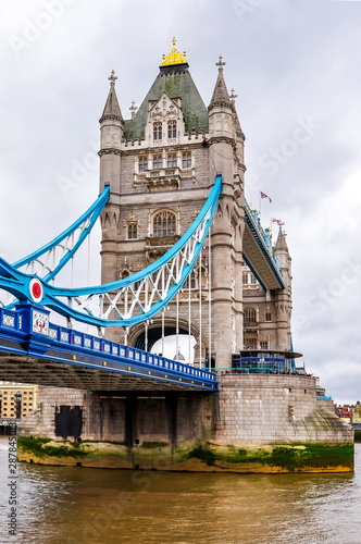 Recess Fitting London London Tower bridge over Thames river, United Kingdom