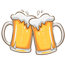 Beer Mug  Vector Clipart