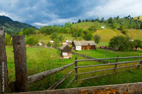 Sadova, traditional romanian village