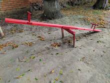 Children's Swing Red And Yello...