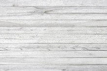 White Or Gray Wood Wall Textur...