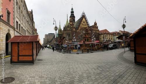 Fototapeta rynek miasta Wroclaw obraz