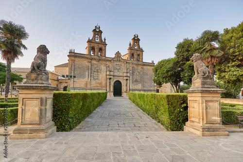 Basilica of Santa Maria de los Reales Alcazares, in gothic style. Ubeda, Jaen