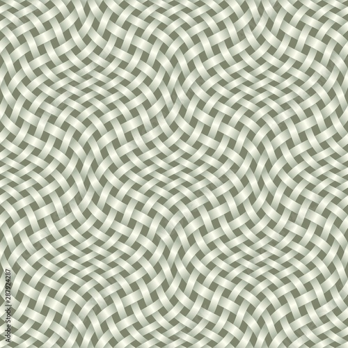 Photo braided background 3D, seamless pattern