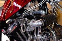 Custom Motorcycle Engine - Harley Devidson