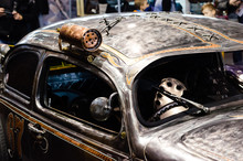 Custom Rat Car In Car Show