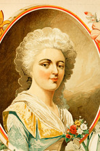 Elisabeth Philippe Marie Helene De France. Born 3rd May 1764. Died 10th May 1794. Daughter Of Louis XVI. Antique Illustration Of 1897.