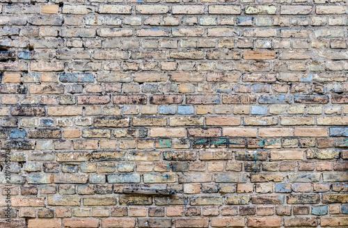 Old brick wall. Wallpaper Mural
