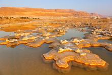 Sunrise At Dead Sea Israel Lan...
