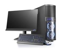 Modern Personal Computer. Grou...