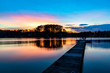 canvas print picture - Lake Murray SC