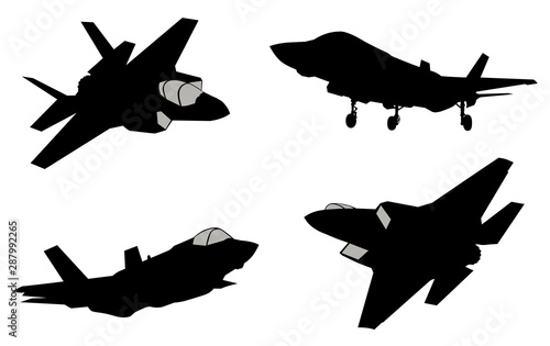 Платно  Vector fighters set
