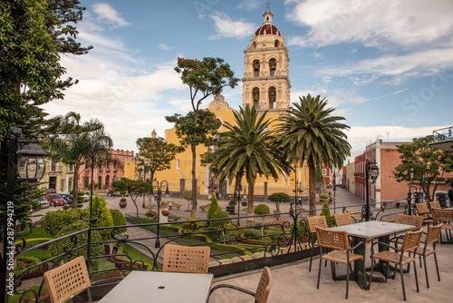 Stampa su Tela  Plaza principal de Atlixco Puebla