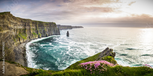Cliffs of Moher in Ireland Fototapet