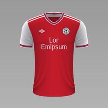Realistic Soccer Shirt. Vector...