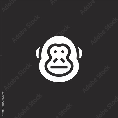 donkey kong icon Canvas Print