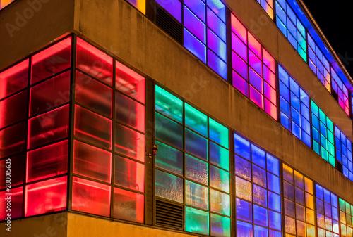 Tela  Gebäude im Licht