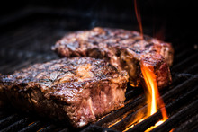 Barbecue Ancho Steak. Ancho St...