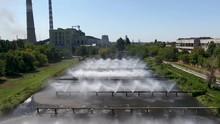 Urban Coal Boiler House Aerial...
