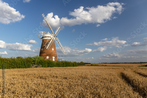 Fotomural  Thaxted Windmill Essex Stansted Flight Path