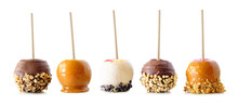 Variety Of Autumn Candy Apples...