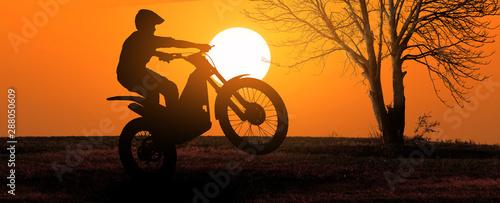 Fotografia Motorbike trial rider