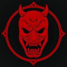Oni Demon Japan Face Mask