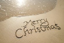 Merry Christmas Message Handwr...