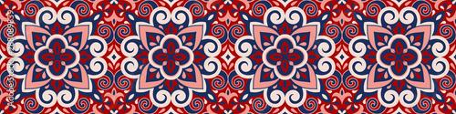 Azulejos ceramic tile design Wallpaper Mural