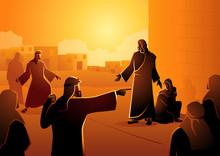 Jesus Forgives Adulterous Woman