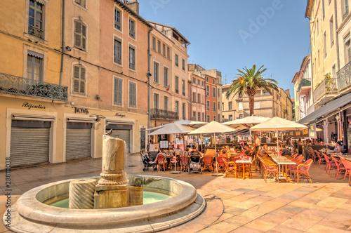 Nimes city center, France