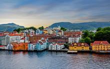 Stavanger, Norway, Sea View Of...