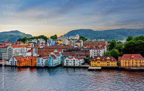Stavanger, Norway, sea view of the city Wallpaper Mural