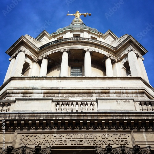 Photo London - Central Criminal Courts (Old Bailey).